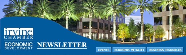 Thumbnail Image For Irvine Chamber Economic Development Newsletter - August 2015 - Click Here To See