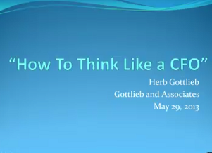 Thumbnail Image For How to Think Like a CFO